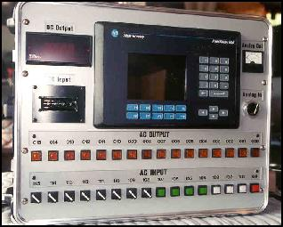 Operator Interface Box featuring PanelView 600